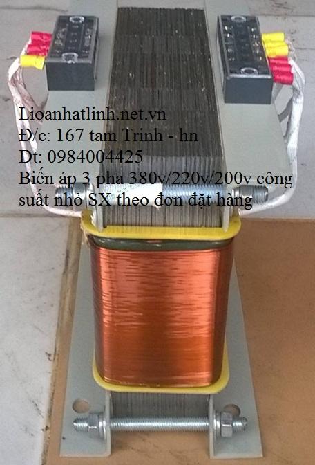 BIẾN ÁP 3 PHA 380V/ 220V 5KW