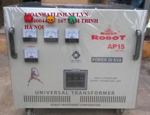 BIẾN ÁP ROBOT 20 KVA 3 PHA