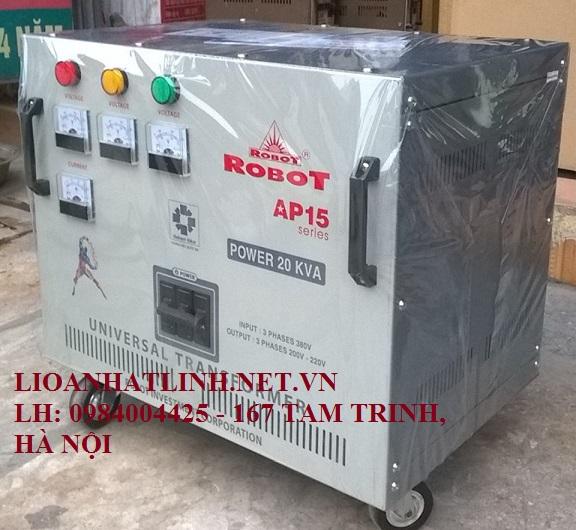 BIẾN THẾ ROBOT 20KVA 3 PHA