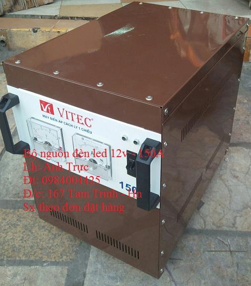 Bộ nguồn đèn led dây 12v - 150a