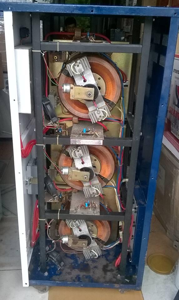 cuộn dây đồng lioa 20kva 3 pha cũ