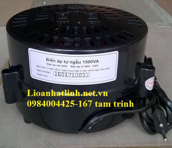 BỘ ĐỔI NGUỒN 220V SANG 110V LIOA