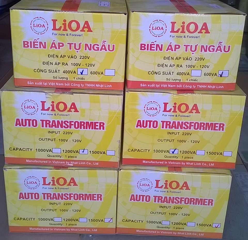 đổi nguồn lioa 1 pha 1500va