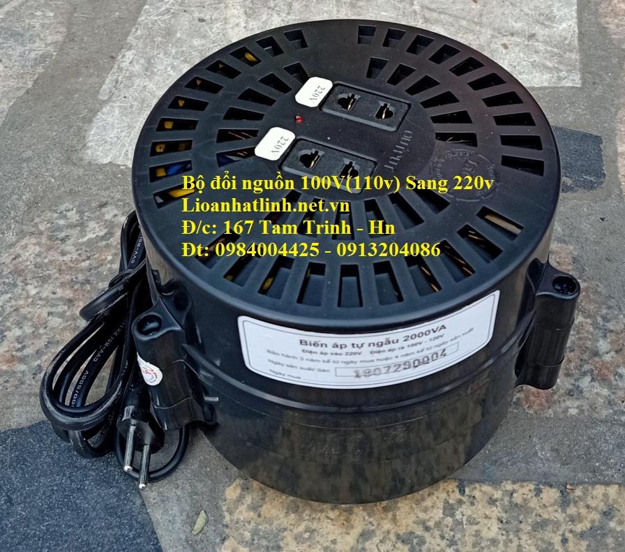BỘ ĐỔI NGUỒN 100V SANG 220V