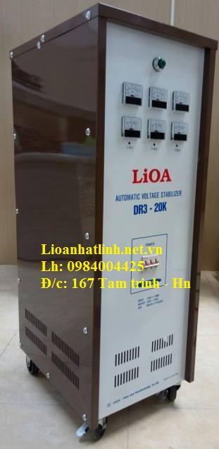 ỔN ÁP LIOA DR3 - 20K 3 PHA