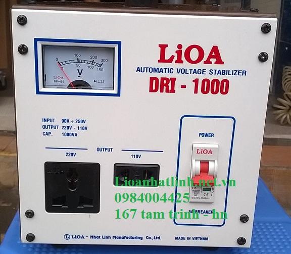 ỔN ÁP LIOA 1KVA DRI - 1000