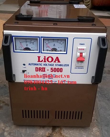 ổ áp lioa 5KVA model DRII-5000