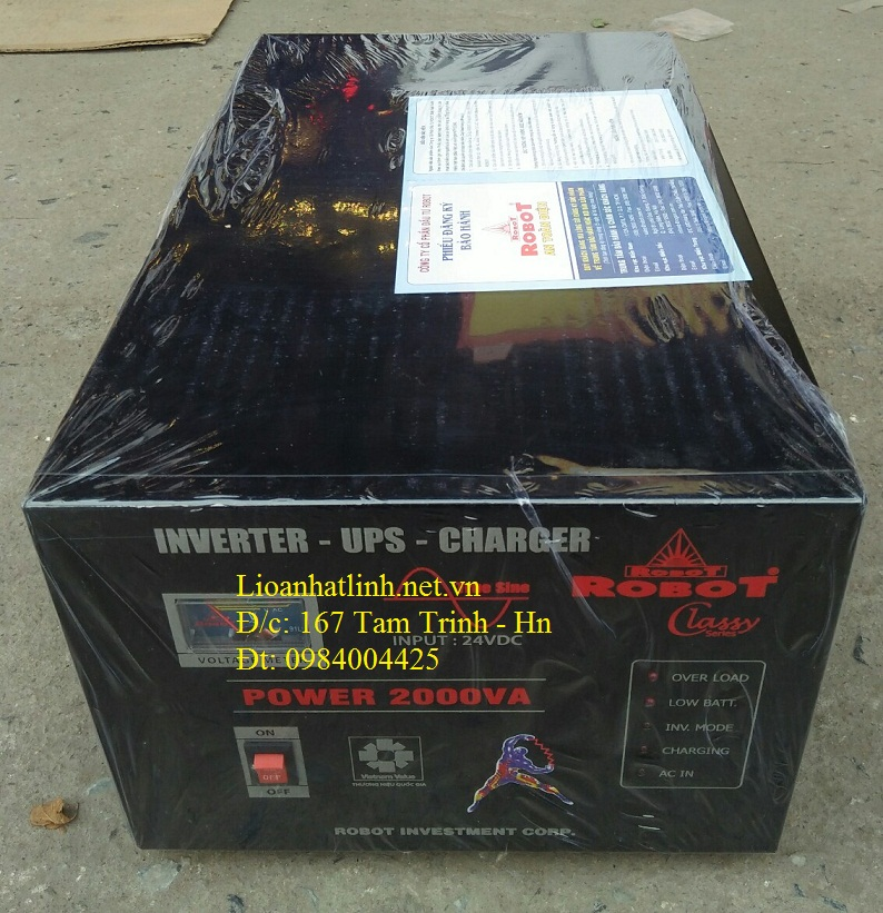 kích điện sin chuẩn 2000w robot