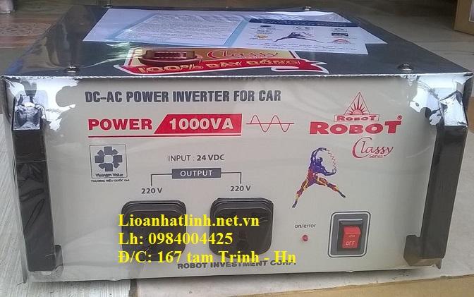 kích điện dùng trên ô tô 1000W