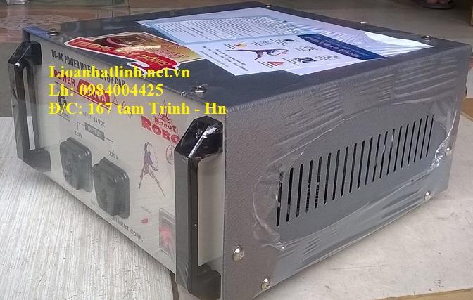 kích điện 24v sang 220v dùng trên ô tô 500W