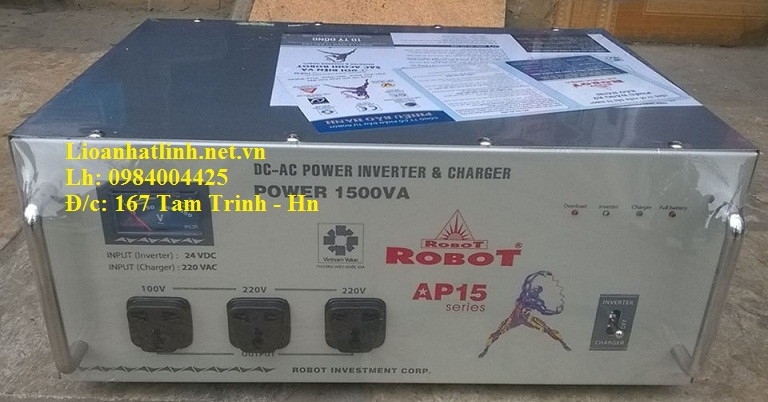 KÍCH ĐIỆN ROBOT 1500VA