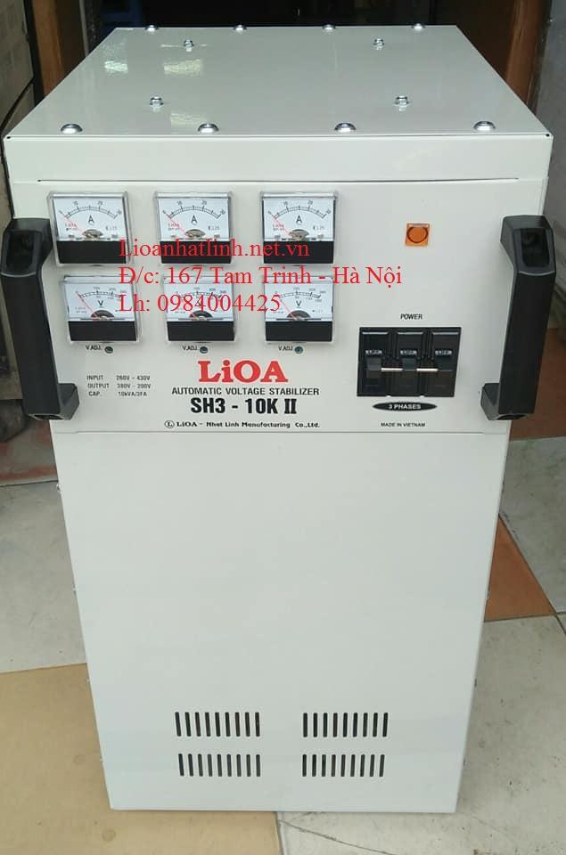 Bảng giá ổn áp lioa 3 pha model sh3