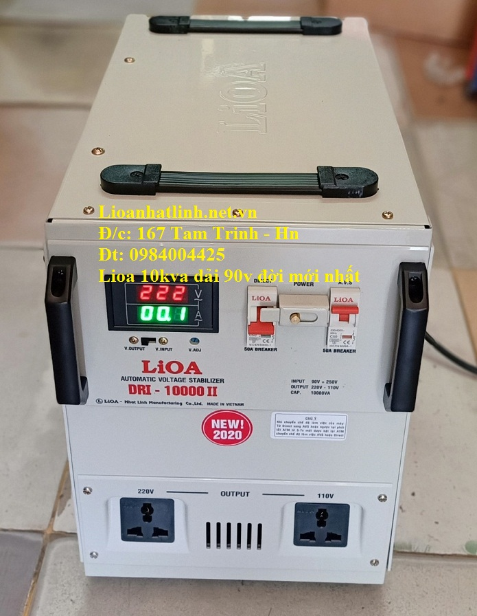 ỔN ÁP LIOA 10KVA DRI - 10000 II