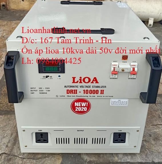LIOA 10KVA DẢI 50V