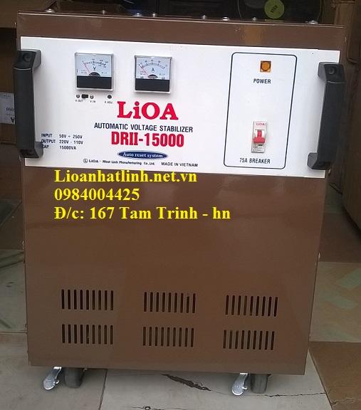 ổn áp lioa 15drii( drii-15000)