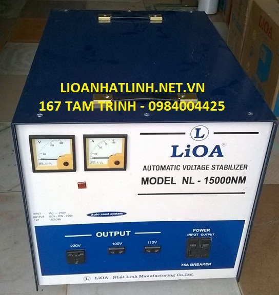 lioa 15kw cũ 2