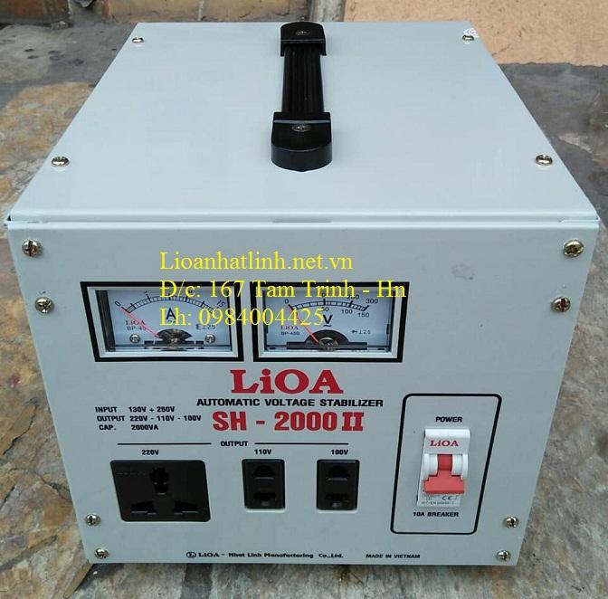 ỔN ÁP LIOA SH - 2000 II
