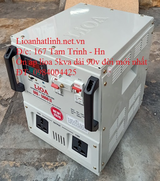 LIOA 5KVA DẢI 90V