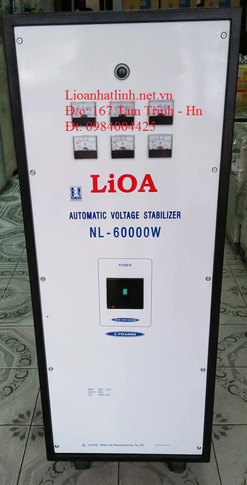 ổn áp lioa nl - 60000w 3 pha