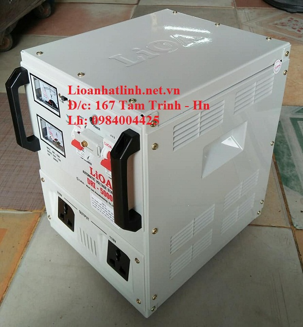 ỔN ÁP LIOA 5KVA DRI - 5000 II