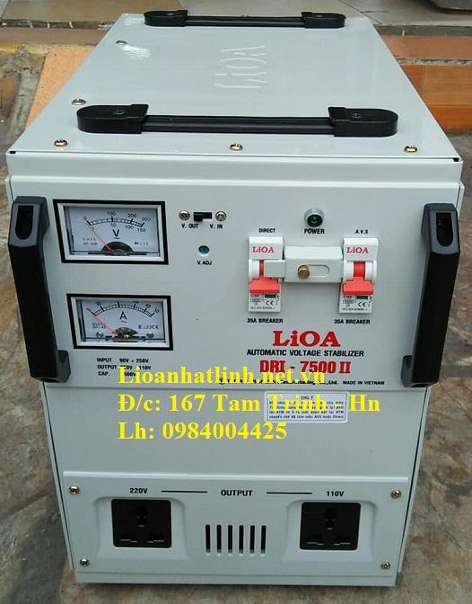 Bảng giá ổn áp lioa 1 pha model dri