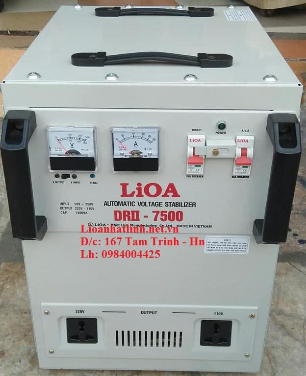 ỔN ÁP LIOA DRII - 7500 II