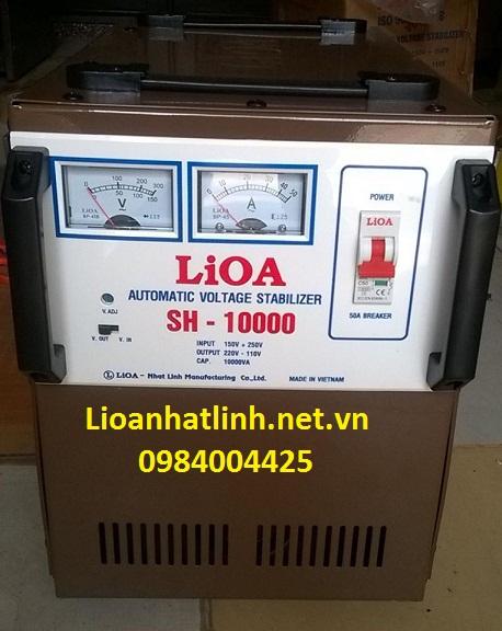 ổn áp lioa sh - 10000 - 02