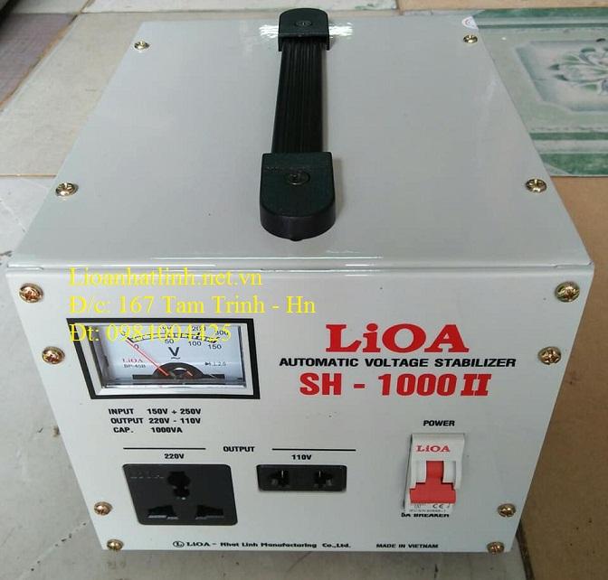 ỔN ÁP LIOA SH - 1000 II