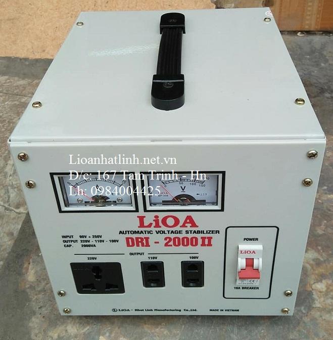 ỔN ÁP LIOA DRI - 2000 II