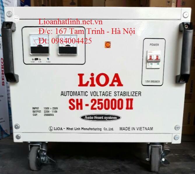 ỔN ÁP LIOA 25KVA SH - 25000 II
