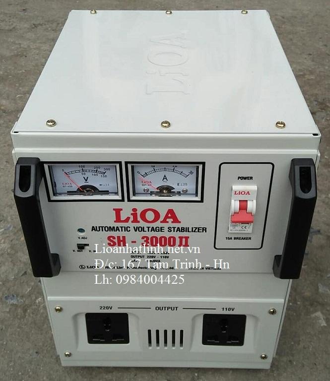 ỔN ÁP LIOA SH - 3000 II