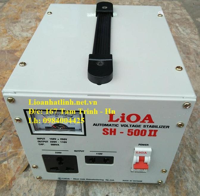 ỔN ÁP LIOA SH - 500 II