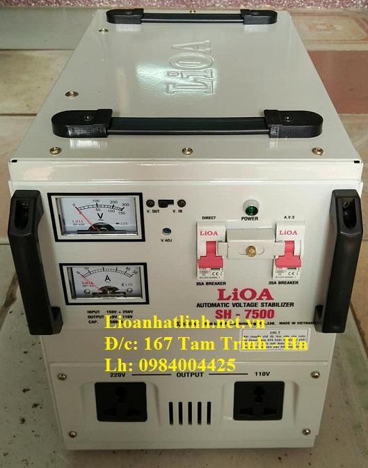 ỔN ÁP LIOA SH - 7500 II