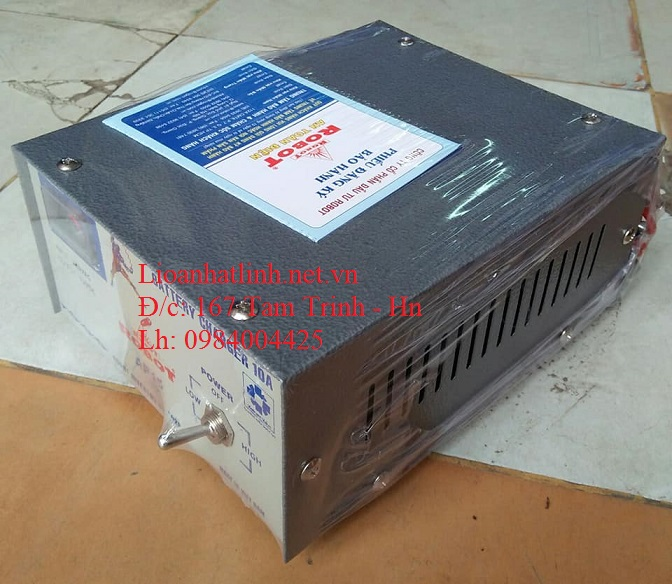 NẠP ẮC QUY 10A
