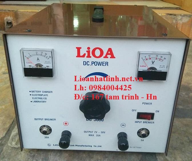 Sạc ắc quy tự động lioa bc 3050