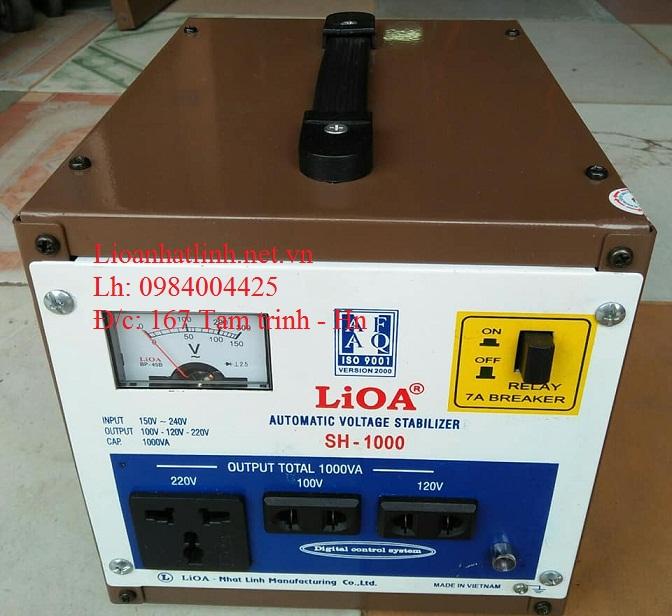 ỔN ÁP LIOA SH - 1000 HÀNG TỒN KHO