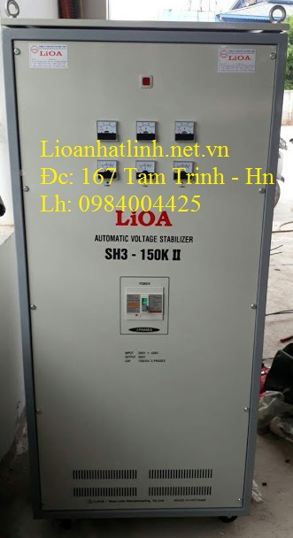 ỔN ÁP LIOA 150KVA 3 PHA MODEL SH3 - 150K II