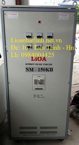 ỔN ÁP LIOA 150KVA 3 PHA MODEL NM - 150K II