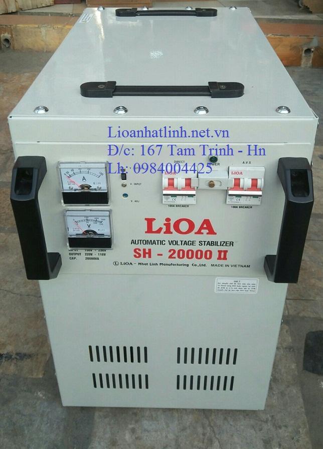 ỔN ÁP LIOA 20KVA SH - 20000 II