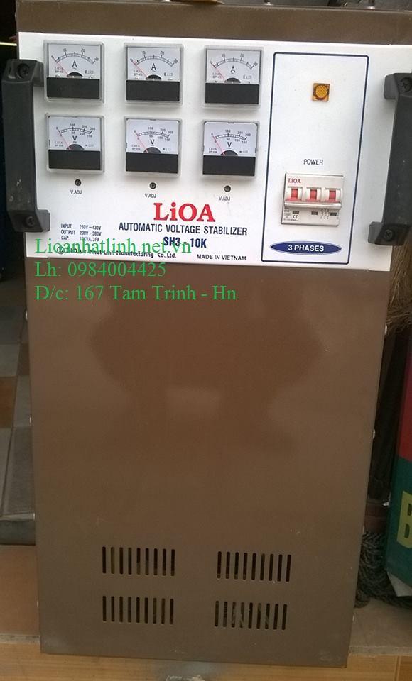 ỔN ÁP LIOA SH3 - 10K HÀNG TỒN KHO