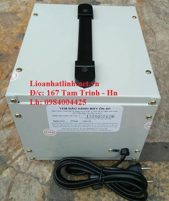 PHÍA SAU ỔN ÁP LIOA 0.5KVA SH - 500 II
