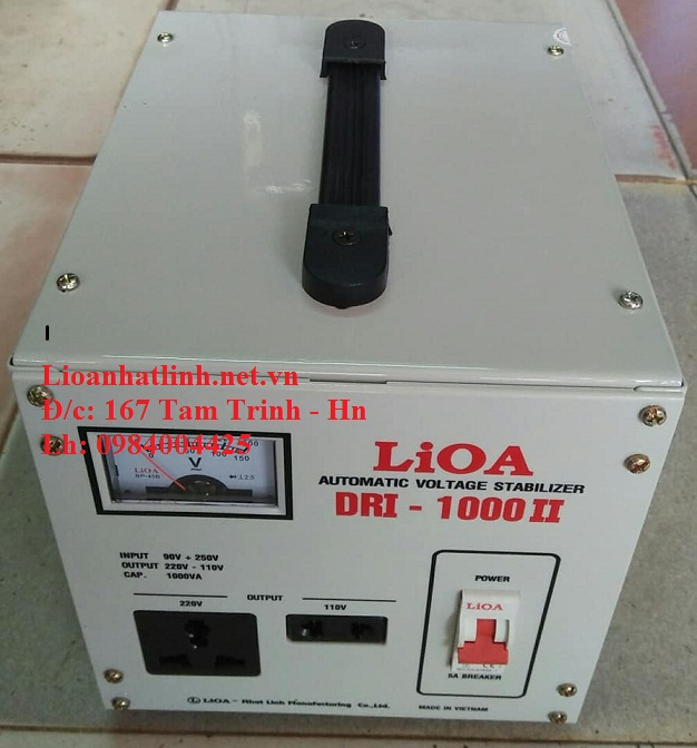 ỔN ÁP LIOA DRI - 1000 II