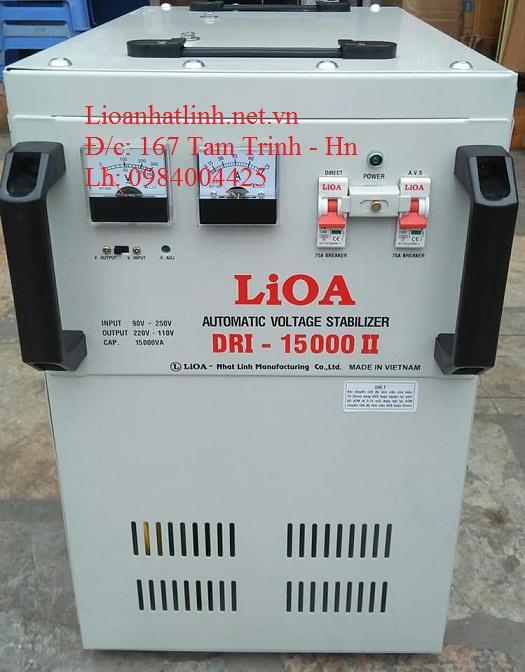 ỔN ÁP LIOA DRI - 15000 II