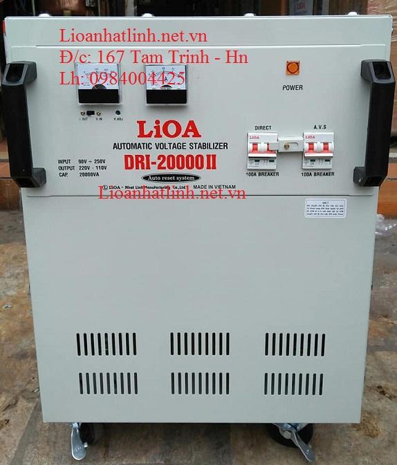 ỔN ÁP LIOA DRI - 20000 II