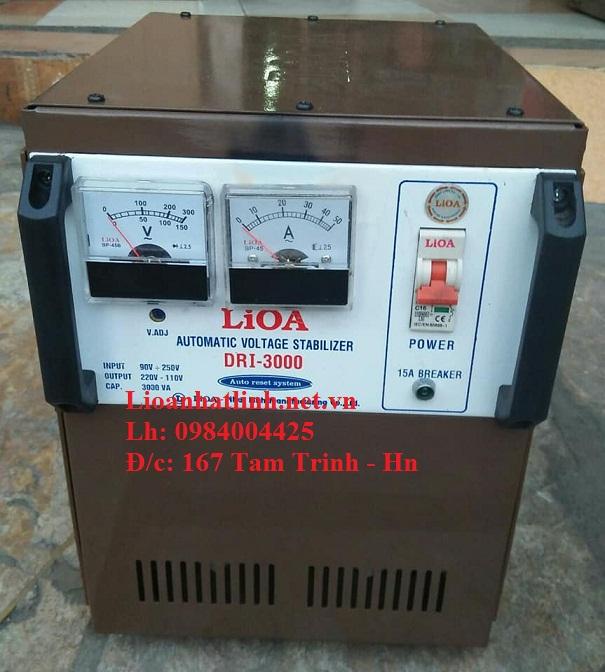 Ổn áp lioa dri - 3000 cũ