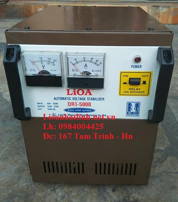 ỔN ÁP LIOA DRI - 5000 ĐỜI 2015 TỒN KHO