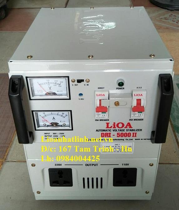 ỔN ÁP LIOA DRI - 5000 II
