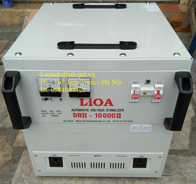 Bảng giá bán ổn áp lioa 1 pha model drii