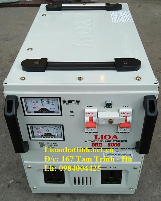 ỔN ÁP LIOA DRII - 5000 II