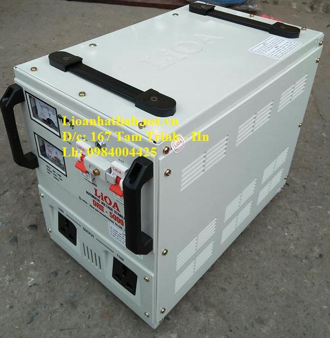 ỔN ÁP LIOA 5KVA DRII - 5000 II